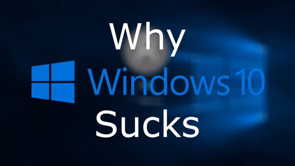 Windows sucks