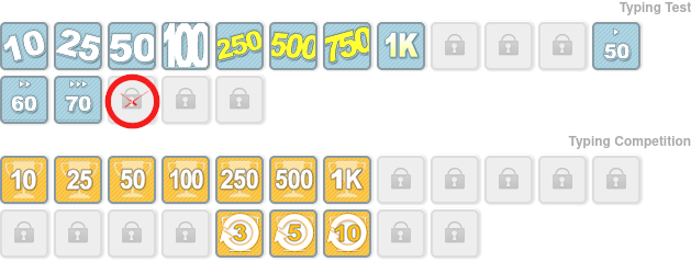 Badges 10fastfingers