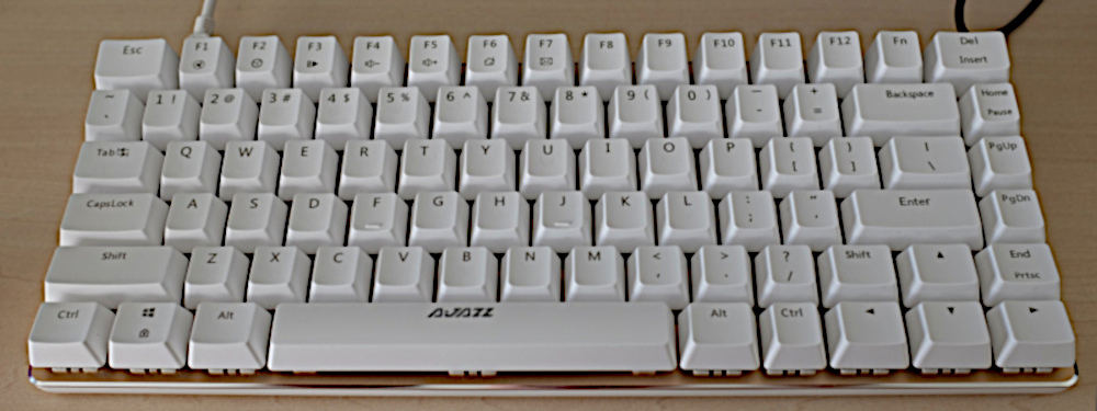 Ajazz AK33 82 keys mechanical keyboard