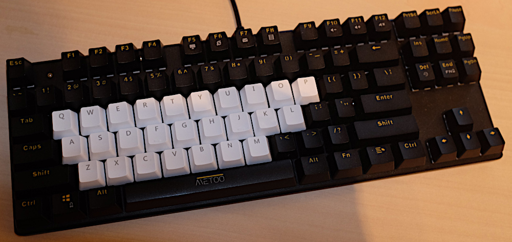 Metoo 87 Mechanical Keyboard